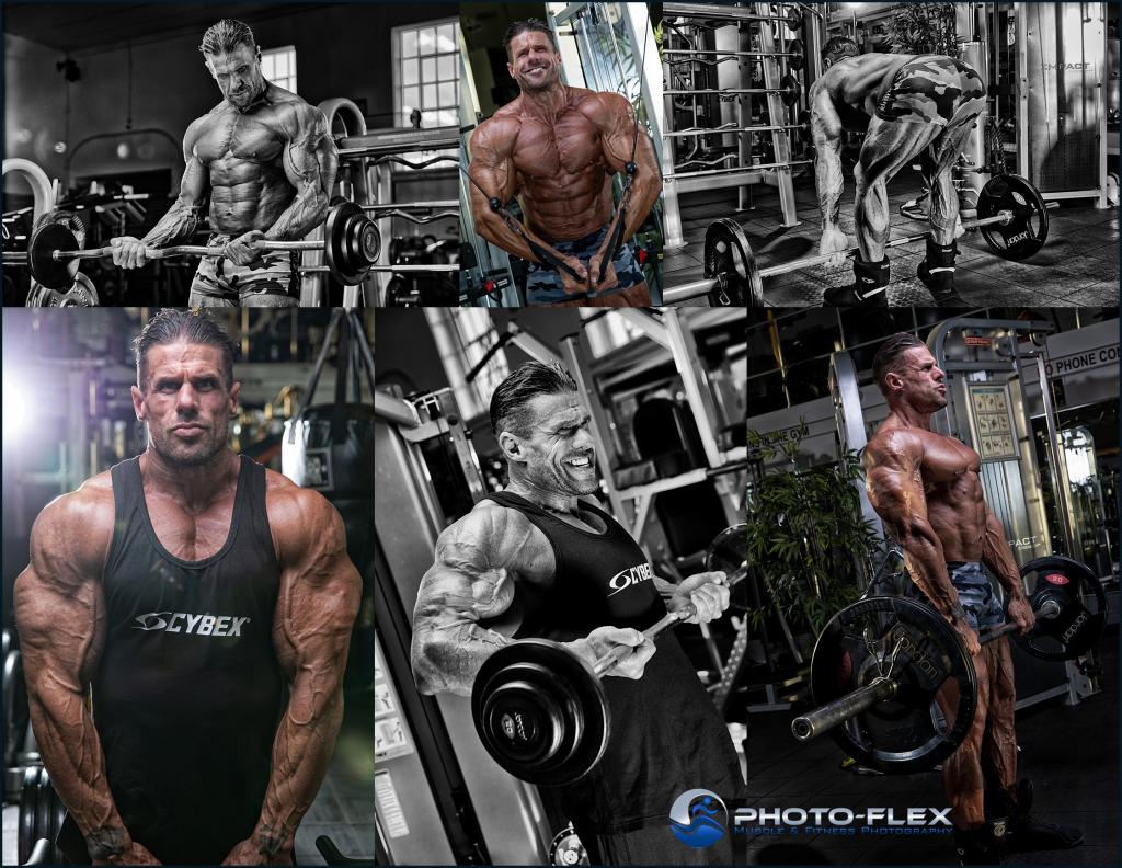 Mens bodybuilding photoshoot