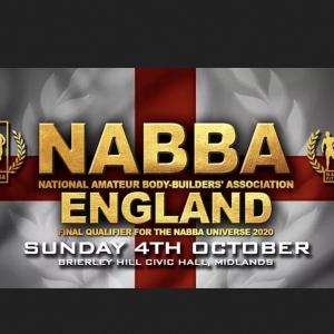The 2020 Nabba England Show photo PRE ORDER