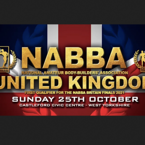 The 2020 Nabba UK Show photo PRE ORDER