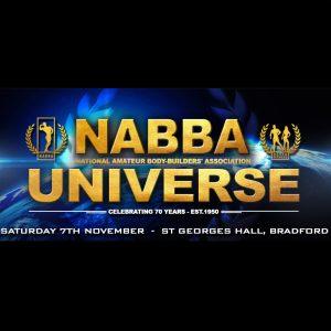 The 2020 Nabba UNIVERSE Show photo PRE ORDER
